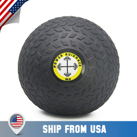 POWER GUIDANCE Slam Ball, Medicine Ball, Weight Available: 6, 8, 10, 15, 20, 25, 30 Lbs, Great for Core Training Cardio Workout