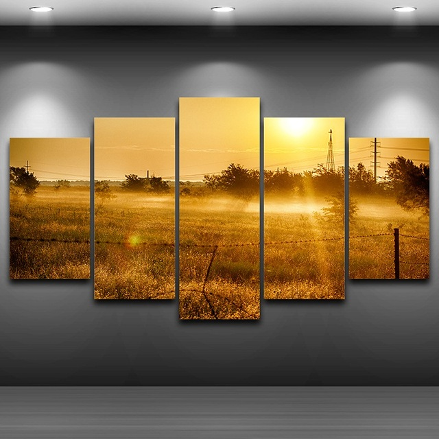 HD Printed Home Decor Spray Oil Painting Decoration Framed wall art ...