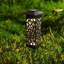 Solar Garden Pathway Lights Lawn Lamp For Garden Lantern Decoration Outdoor Path Light Wireless Waterproof Night Led Solar Lamp(China)