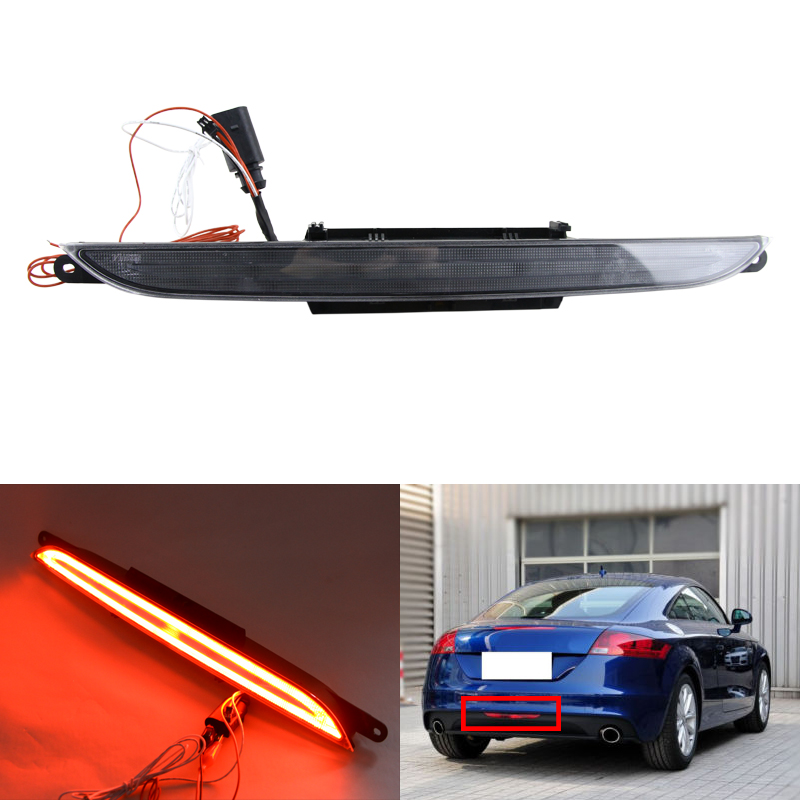Brand New 1Piece Led Reversing/Third Brake/Rear Fog Light For Audi TT TTS TTRS Coupe Roadster Waterproof Car Styling Led Lights цена 2017