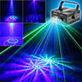 Mini 12 Big Gobos GB Laser Projector Lights 3W Blue LED Mixing Effect DJ Party Home Garden Holiday Show Lighting AZ12GB