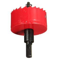 M42 биметаллическое отверстие пилы Фрезерное сверло набор красный для алюминиевой железной древесины, 60 мм