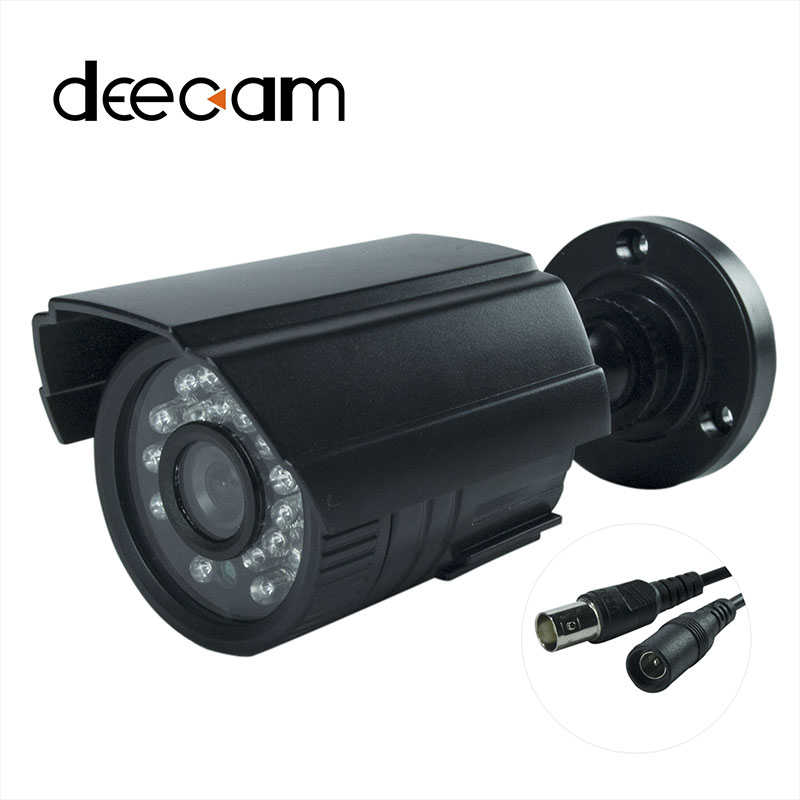 Decam CCTV AHD Camera 1200TVL IR Cut Filter Night Vision Outdoor Waterproof Security Bullet Surveillance Camera  de seguridad cctv hd bullet outdoori waterproof 1200tvl camerair cut night vision surveillance security camera