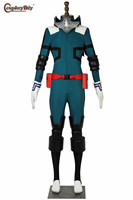 Anime My Hero Academia Boku No Hero Akademia Cosplay Izuku Midoriya Battle Costume School Uniform Halloween