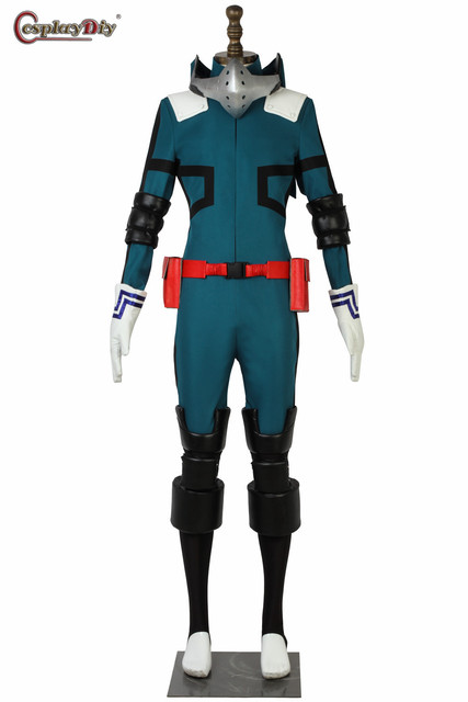 Anime My Hero Academia Boku no Hero Akademia Cosplay Izuku Midoriya Battle Costume Deku Battle Halloween Carnival Clothes