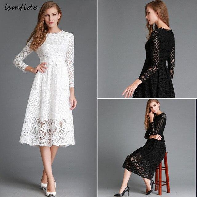 Kleid langarm baumwolle