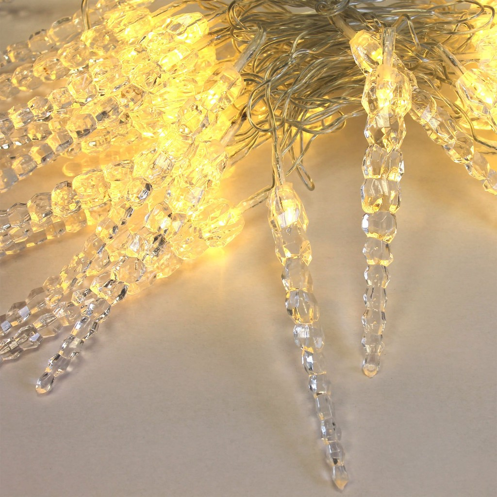 1.5M/3M Icicle Fairy String LED Lights, Centerpieces, Outdoor Wedding, Christmas Party Lights, Room decor winter wedding Garland