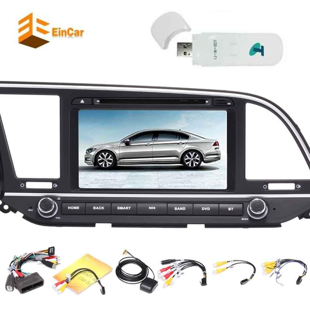 3G dongle+Android 7.1 Car DVD Player for Hyundai 2 din Stereo Radio GPS Autoradio headunit Support Bluetooth/OBD2/1080P/WiFi/3G