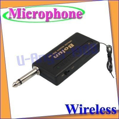 Wireless Headset MINI Mic Clip-On Microphone for PC new+free shipping