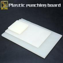 ПВХ штамповочная доска белый толстый пластиковый лист резиновая