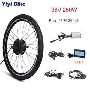 36 v 250 w e roda do motor da bicicleta 16