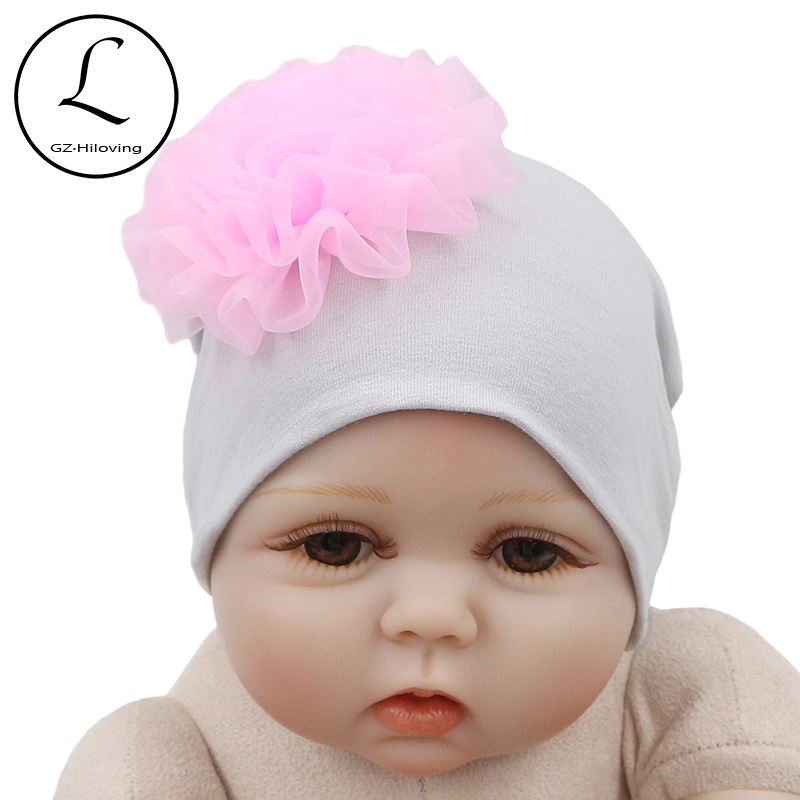 Detail Feedback Questions about GZHilovingL Flower Baby Hat For Baby  Photography Accessories Winter Warm Beanies For Infant Newborn Cotton  Knitted Hat For ... 89d2a99052f0