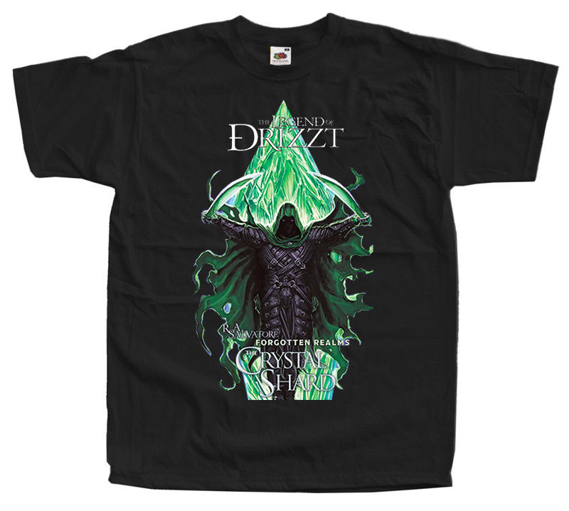 The Legend Of Drizzt Crystal Shard Dungeons Dragons Forgotten Realms Size S 5Xl ...