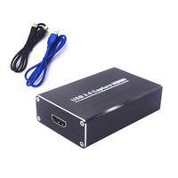 HDMI To USB3 0 1080P HDMI Video Capture Card Box Standard For Windows Linux Mac HDMI