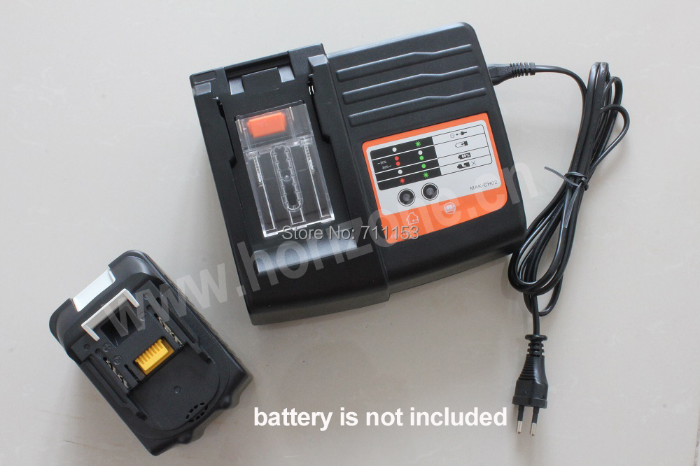 Replacement Power tool battery charger for Makita BL1830 Bl1430 DC18RC  DC18RA Vacuum cleaner replacement charger for bosch 7 2v 9 6v 12v 14 4v 18v 24v nicd nimh power tool battery vacuum cleaner