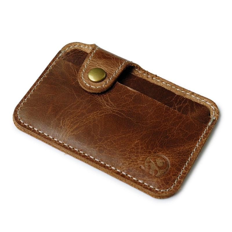 Genuine Leather Card Holder Porte Carte Men Card Id Holders Bank Card Case Credit Cardholder Case to Protect pasjes houder