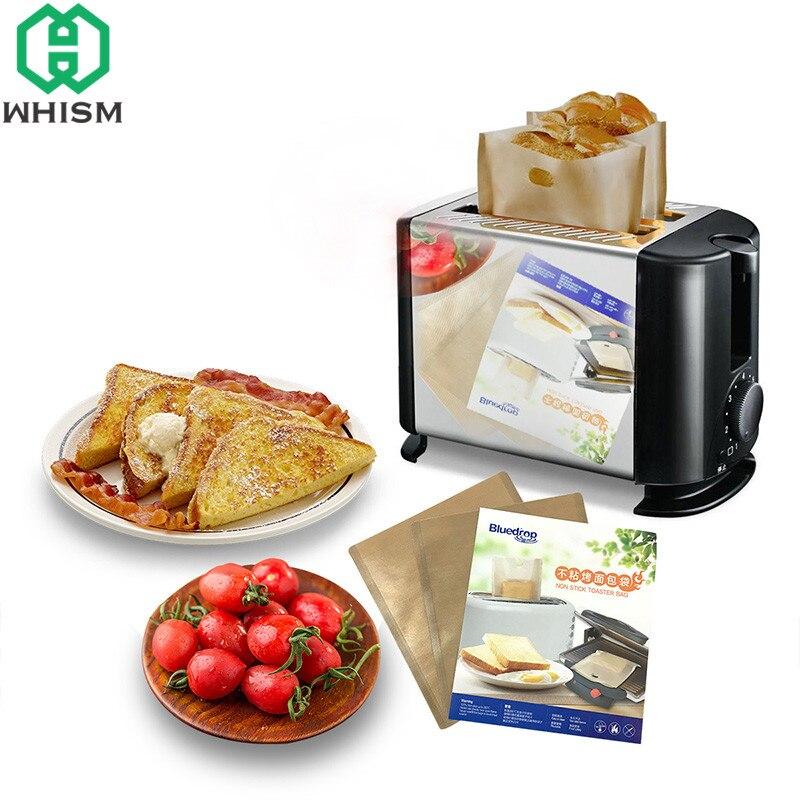 Paquete De 8 bolsas reutilizables de Tostadora Toastie Sandwich Tostadas bolsillos Tostado toastabags