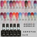 N-026 Temperature changing colors soak off gel polish ,88Color changing gel polish