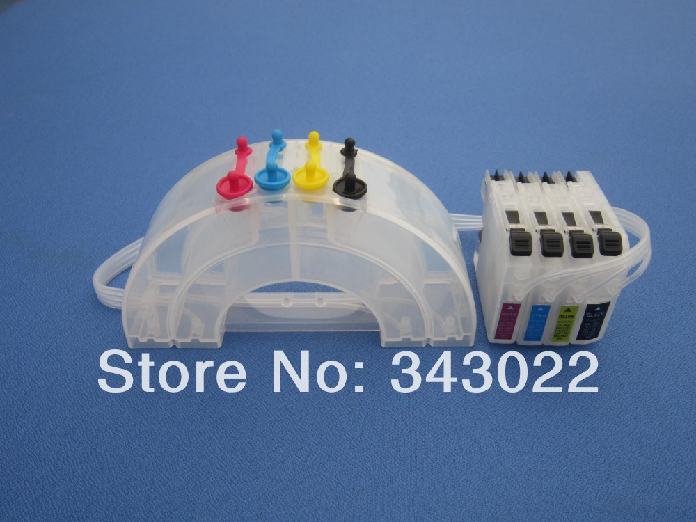 ФОТО Rainbow ink tank CISS for BROTHER LC101 LC103 LC105 LC107 LC161 LC163 LC113 LC123 LC133 LC115 LC125 LC135 LC565 WIth ARC chips
