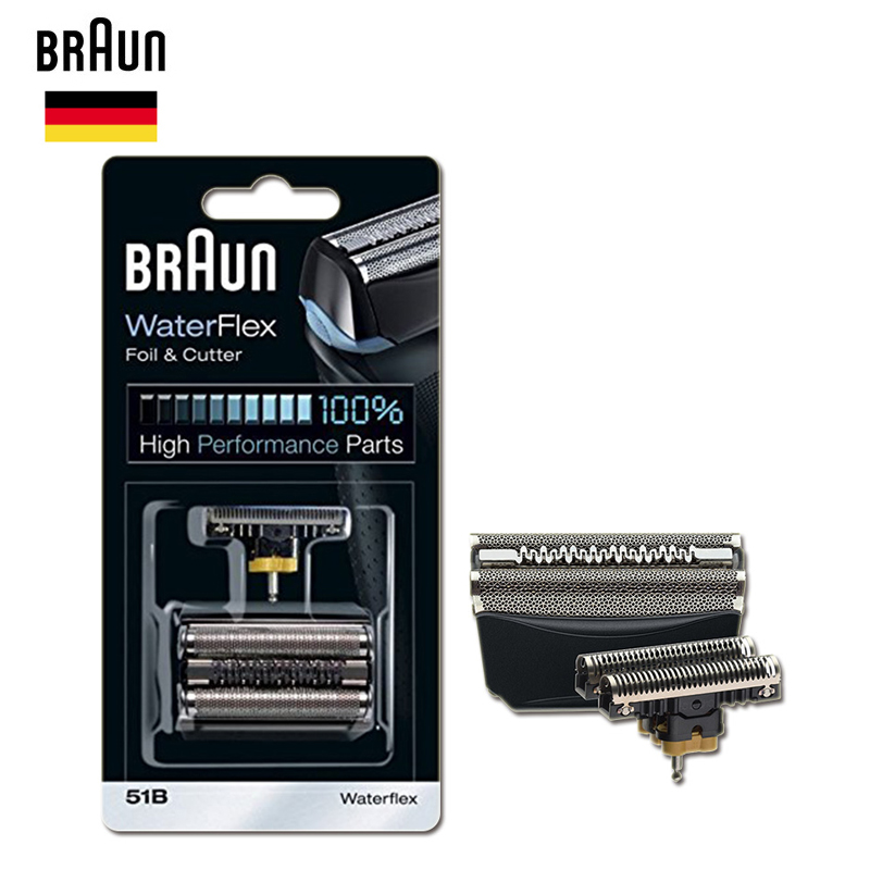 Braun 51B Razor Blade Foil Cutter Series 5 Electric Shavers Heads Replacement 8998 8595 8590 5643 5644 5645 New 550 New 570 WF1S braun 51b