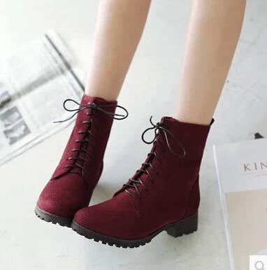 separation shoes d2c52 62fd7 US $14.88 |Frauen Schuhe Stiefel Damen Stiefel 40 41 42 43 44 45 46 47  Kleine Größe 33 Martin Stiefel-in Knöchel-Boots aus Schuhe bei  Aliexpress.com | ...