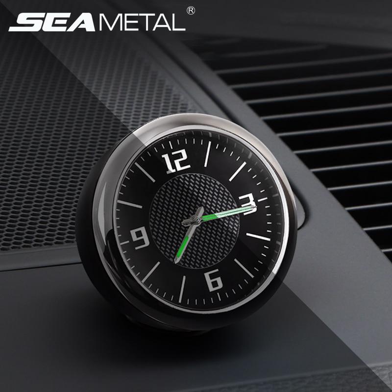 Leucht Auto Uhr Mini Digitale Uhren Quarz Autos Decor Air Vent Clip Uhr In Die Auto Uhr Autos Interior Zubehör Messgeräte Automobile & Motorräder