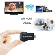 2 4G HDMI Airplay WiFi Adapter Mini Android TV Dongle Ezcast Multi display 1080 Full HD