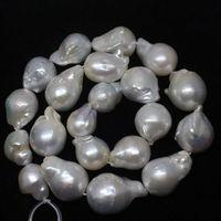 xiuli 000612 Wholesales 21pcs,14x17~18x23mm Natural AAA+ Baroque Pearl Freedom Beads 15''