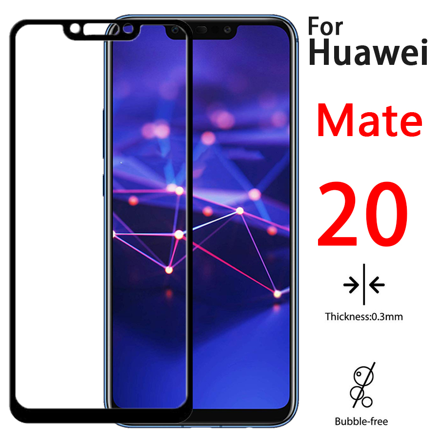 Protective Glass On For Huawei Mate 20 Lite Tempered Glas Film Huavei 20Lite Tremp Huawey Light Screen Protector Full CoverCam