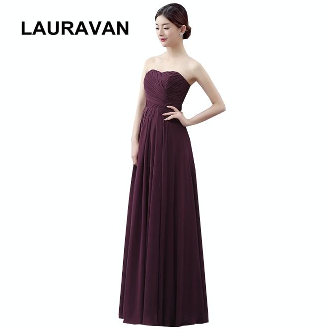 navy blue claret burgundy sleeveless bridesmaid multi color chiffon modest  elegant dresses dark blue dress free shipping 50764000468d