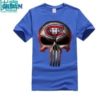 Montreal Canadiens The Punisher Mashup Ice Hockey Shirts