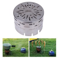 BRS 24 Far Infrared Heating Windproof Outdoor Stove Cover Portable Camping Picnic Heater Warmer Tent Fit