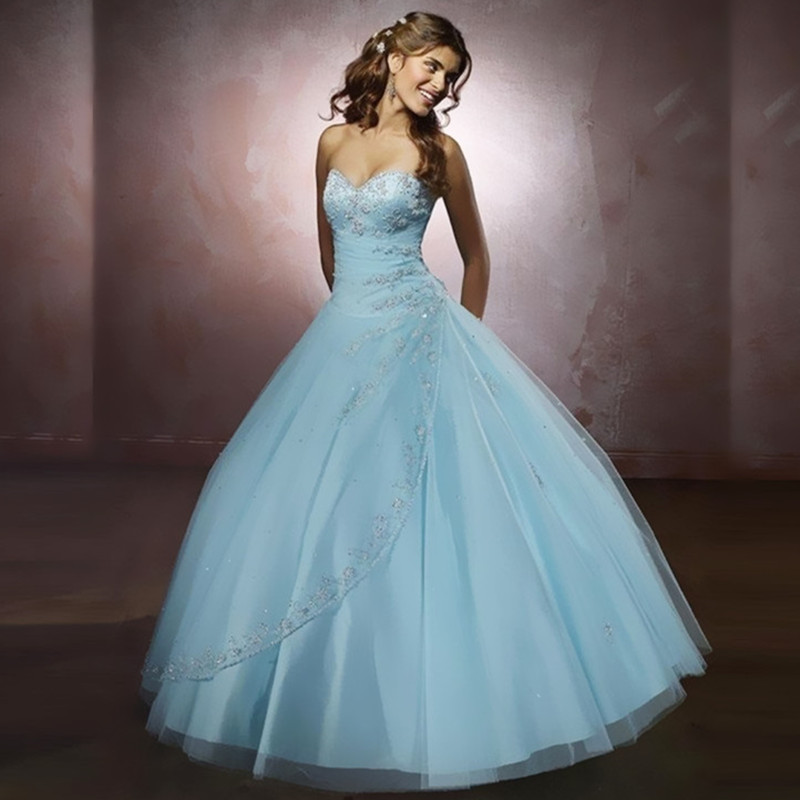 High Quality Baby Blue Quinceanera Dresses Buy Cheap Baby