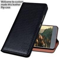 HY02 Luxury Genuine Leather Flip Coque Cover For Xiaomi Redmi Note 4 Phone Case For Xiaomi Redmi Note 4 Phone Bag Kickstand