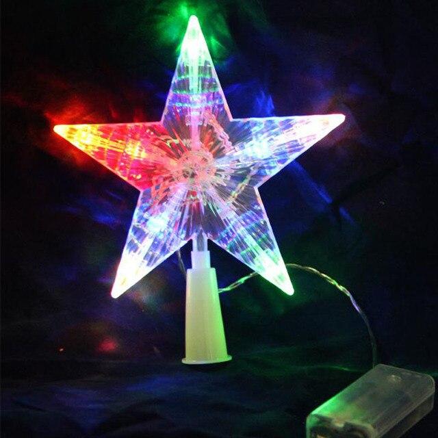 De cinco puntas estrella de Hadas Cadena de Luz LED Para El rbol de