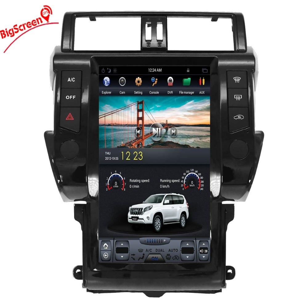 Car GPS Radio Player for Toyota Land Cruiser Prado 150 2014-2017 Android 9.1
