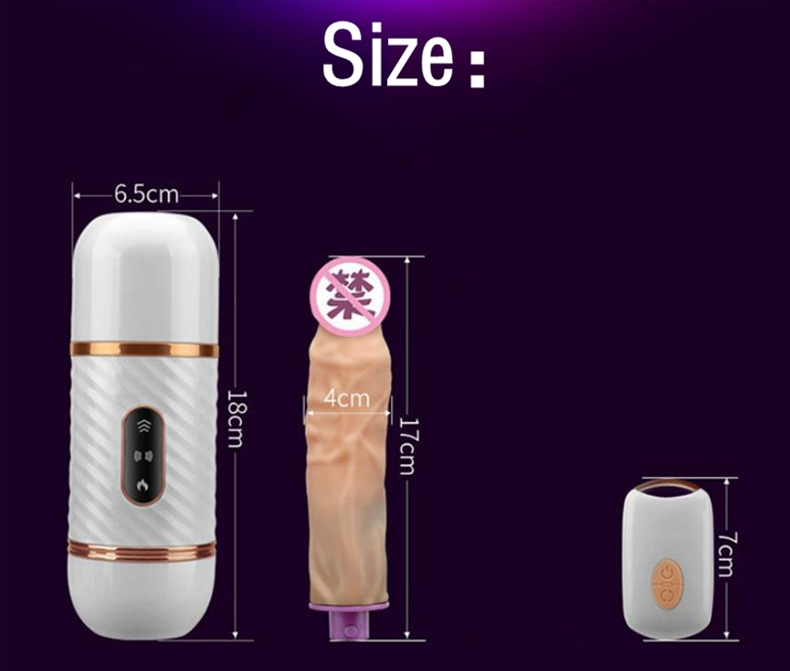 Wireless Remote Control Automatic Sex Machine