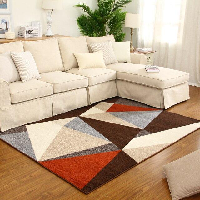 3d moderne wohnzimmer geometrie teppich couchtisch schlafzimmer ...