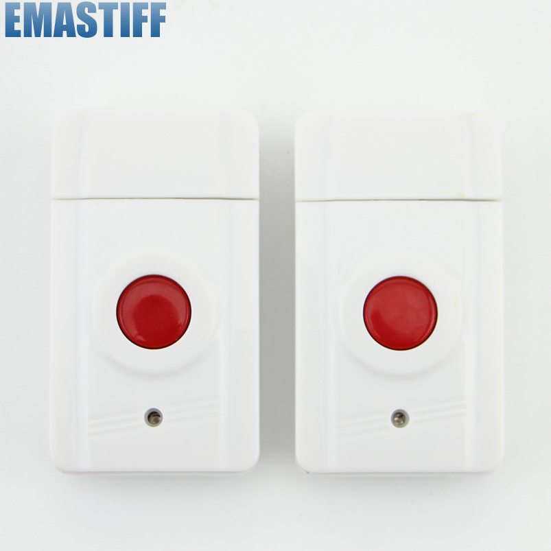 eMastiff Wireless Emergency Button for Our Related Home Alarm Home Security System 433Mhz Panic Button wireless service call bell system popular in restaurant ce passed 433 92mhz full equipment watch pager 1 watch 7 call button