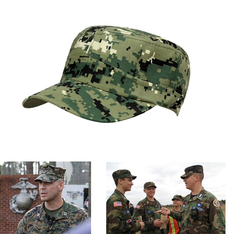 Army Mens Womens Cap Tactical Military Camouflage Hat Hunting FIshing Cap Outdoor Sports Hat 3colors army embroidery cap casual outdoor us navy baseball caps holiday army fans army embroidery cap gorras beisbol army
