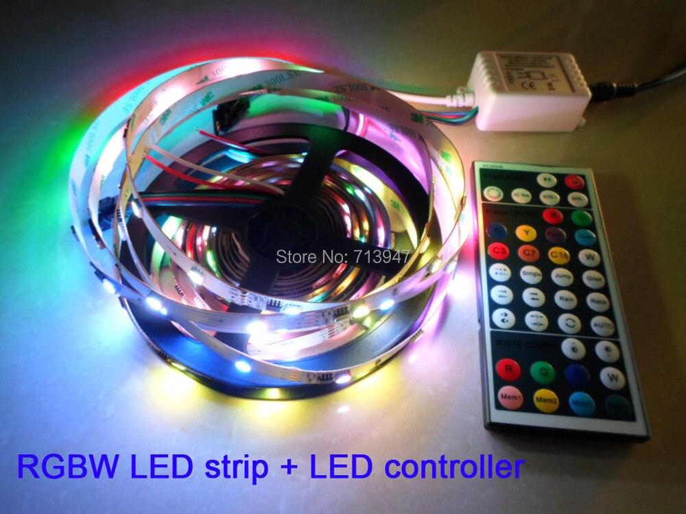 1X WS2811 adressable 5050SMD RGBW LED bande 30 LED/m 10 Pixels/m + WS2811 RGBW LED de contrôle livraison gratuite