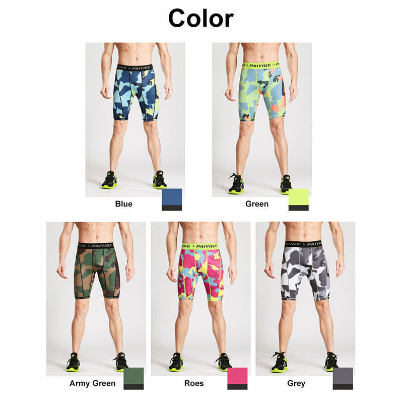 6687359f81157 New Summer Outdoors Quick dry Male Camouflage Fitness Running Tights Mens  Sport Leggings Shorts bodysuit-in Running Tights from Sports &  Entertainment on ...