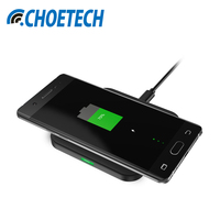 CHOE QI Fast Charge Wireless Charger Charging Pad For Samsung Galaxy Note 5 S6 Edge And