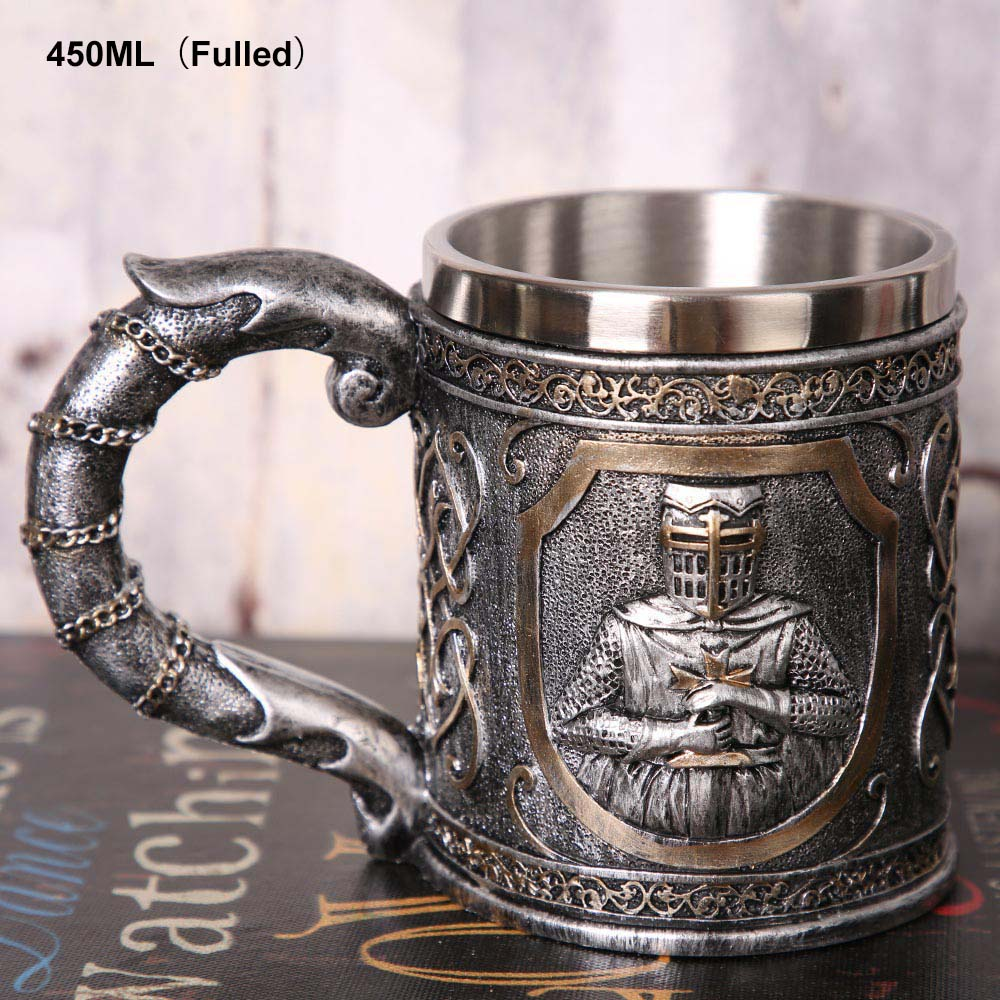 9a24c2331e8 1Pcs 304 Stainless Steel Skull Coffee Mug Viking Skull Beer Steins Gift For  Men Father's Day Gifts Halloween Bar Home Decoration-in Mugs from Home &  Garden ...