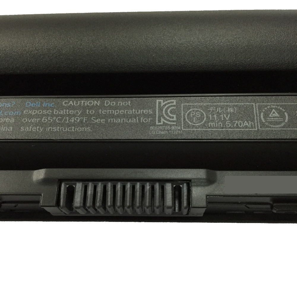 11 1V 65Wh 6cells New Original E6320 Laptop Battery for Dell Latitude E6120 E6220 E6230 E6330 E6430S RFJMW 11HYV 3W2YX 5X317 in Laptop Batteries from Computer Office
