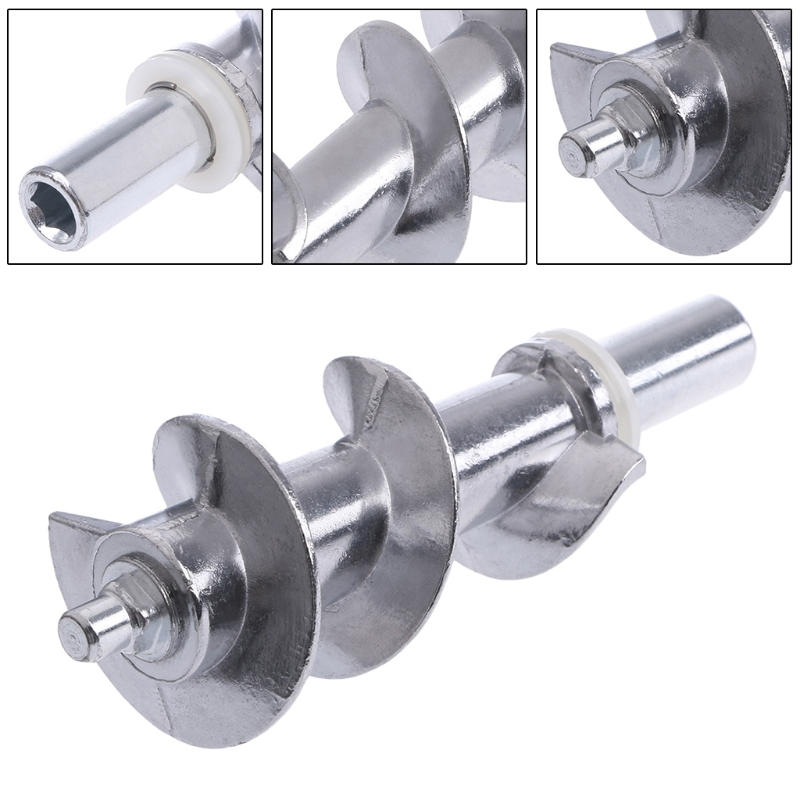 MEXI High Quality 1PC Meat Grinder Screw Mincer Meat Grinder Parts Meat Grinder Bades Home Kitchen Accessories Replacement