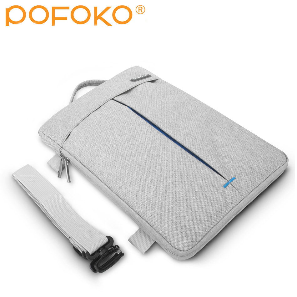 Waterproof Notebook Laptop Shoulder Carry Bag Case For Apple MacBook Air Pro MAC 11 6 12 13 3 15 4 17 quot in Laptop Bags amp Cases from Computer amp Office