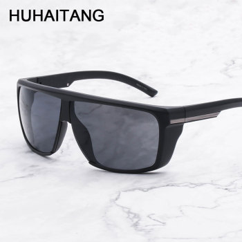 HUHAITANG Luxury Oversized Brand Sunglasses Mens Designer Vintage Women Driving Sun Glasses Men Sport Outdoor Sunglases Ladies