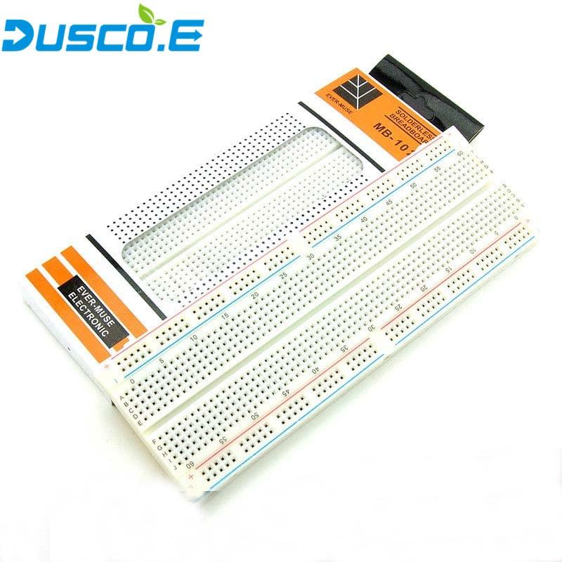 MB102 Breadboard For MB-102 Protoboard PCB Board BreadBoard 830 Point Solderless Universal Prototype Test Develop For Arduino