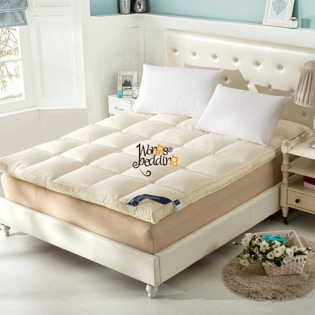 Feather mattress 120/137/180/200*200cm mattress student children slip double soft warm bed bedding Folding Fashion NEW Quilt
